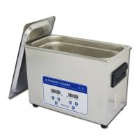 China 4.5L Jewelry Eyeglasses SS Digital Ultrasonic Cleaner With Heater wholesale
