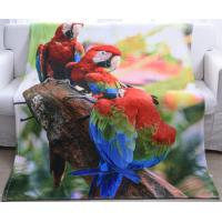 China 3D Photo Printing Flannel Blanket Kids Throw Blanket Non Irritating Anti - Crease wholesale