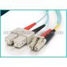 China La correction optique peu sensible de fibre multimode de courbure câble LC - Sc 2.0mm pour la télécommunication wholesale