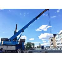 China Concrete Pile Foundation Hydraulic Jack Machine Instead Of Hammer on sale