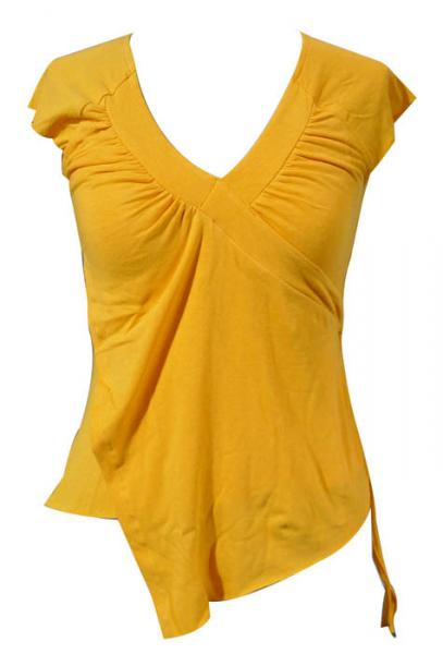 Yellow Tops For Girls Girls Top Wear Fashion t Shirt