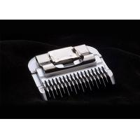 Washable Chrome Coated Hair Trimmer Blades For Pet Clipper , 24 Teeth