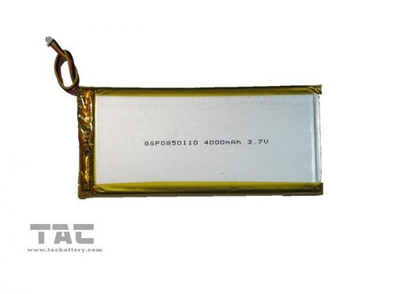 Quality GSP6532100 3.7V 2100mAh Lithium Ion Polymer Batteries Cells for sale