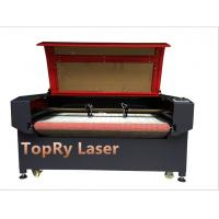 China Textile Fabric CO2 Laser Cutting Machine with Auto Feeding (JM1810T-AT) on sale