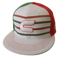 China 49*48*57cm, custom hat embroidery with flat peak, any other design or shape wholesale