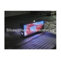 China Aluminum Taxi Top LED Display P6 Advertising 3G Industrial Grade Router wholesale