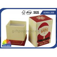 China Christmas Design Luxury Rigid Gift Box / Cardboard Gift Boxes Custom Printed wholesale
