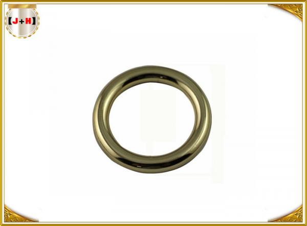 Quality Nickel Plate Small Metal O Rings For Handbags , Handbag Accessories Hardware for sale