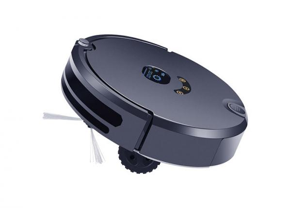 Quality Black Color House Cleaning Robot 370 ML Water Tank 20 Climbing Degree for sale