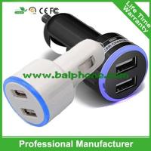 5V 2.1A mini dual usb car charger