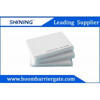 0.86mm 13.56 MHz Smart PVC RFID Card For Electronic Toll Collection Management