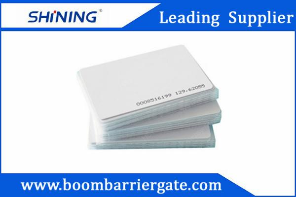 Quality 0.86mm 13.56 MHz Smart PVC RFID Card For Electronic Toll Collection Management for sale