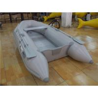 China Tough PVC Inflatable Boats 6 Person Small Inflatable Dinghy With Aluminium Oars wholesale