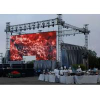 China Full Color Outdoor LED Screen Rental Video Wall P4.81 6500 Nits For Stage / Event wholesale