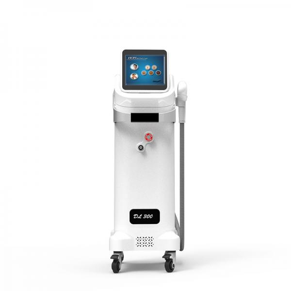 Quality High Power three waves no pains permanent Diode laser hair removal machine in Salon for sale