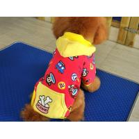 China Bichon Frise small dog apparel Hooded Sweatshirts clothes for pets customized wholesale