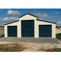 China Anti Seismic Steel Barn Structures Kits With Three Rolling Door Sandwich Panel wholesale