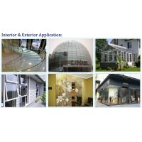 331 332 441 442 551 552 Building Toughened Safety tempered laminated glass wall panel with CE
