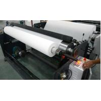 Quality Plate Non Woven Slitting Machine / Automatic Stretch Film Slitting Rewinding for sale