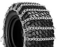 China Garden Anti Skid Chains 2 Link Garden Tractor Tire Chains For Lawn Tractor on sale