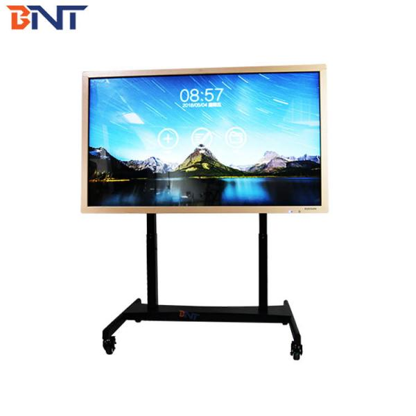 Quality electric lifting and turning type floor mobile TV bracket  90 degree overturn angle BNT-680 for sale