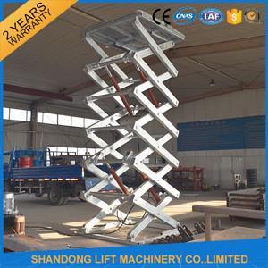 Buy cheap Le dock de ciseaux d'acier inoxydable soulève l'équipement de manutention/tables élévatrices industrielles from wholesalers