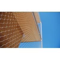 China AISI 316 Grade Stainless Steel Wire Rope Mesh Anti - Falling Mesh Fence wholesale
