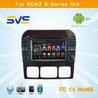 China Android 4.4.4 car dvd player for Benz Old S serries W220 car radio gps navigation system wholesale