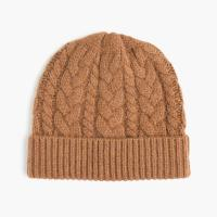 China Simple Design Soft Cable Knit Hat / Mens Cable Knit Beanie For Keep Warm wholesale