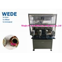 China 4 Stations Spiral Winding Machine , Motor Coil Winding Machine For 24 Slots External Armature wholesale