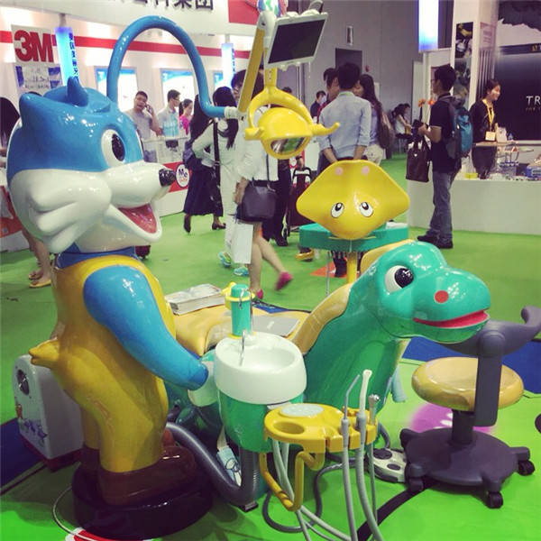 Quality lovely cartoon kids dental chair dental units for sale