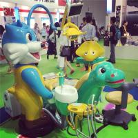 lovely cartoon kids dental chair dental units