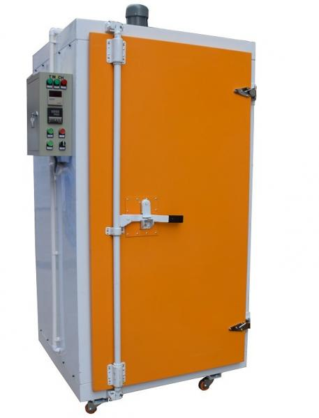 Electric powder curing oven for powder coating of for Paint curing oven