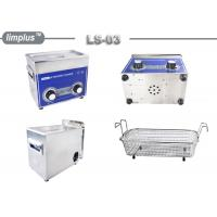 China 3 Liter Knob Control Table Top Ultrasonic Cleaner 120W Jewelry Watch Clean Limplus wholesale