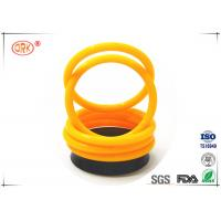 China FKM 70 Fuel Resistant O Rings High Fluorine Grades For Low Compression Set wholesale
