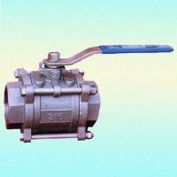 China 2-piece API6D Socket-Welded Forged Steel Ball Valves with 800 WOG,1000 WOG Pressure wholesale