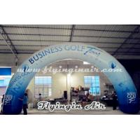China Standard Curved Inflatable Advertising Arch, Printing Inflatable Archway wholesale