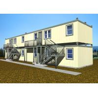 China Double Deck Villa Large Container Homes Easy Installation With All Facilities wholesale