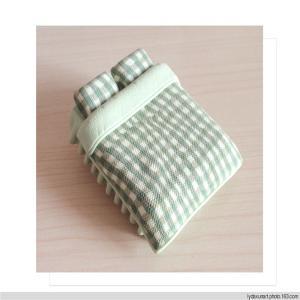China all kinds of model beds furniture bed, mini ceramic model bed for indoor indoor scene wholesale