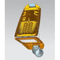 Buy cheap UV resisted powder coating IP66 Die casting LED street light housing 5 years warranty from wholesalers