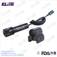 China FDA Certified GS-0100 4.5mw Waterproof Green Laser Sight with Rail Mount for Rifles & Pistols on sale