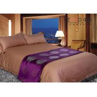 China Hotel Grade Bed Linen Brown , Hotel Collection Linen Easy Maintenance wholesale