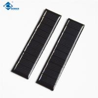China 0.2 Watt 5V For Small Solar Power Supply ZW-8120 Light Weight Silicon cheapest solar panel photovoltaic for DIY toy on sale
