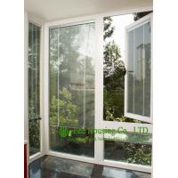China White Color Upvc Casement And Fixed Windows With Louvers Inside For House, Double glazing wholesale