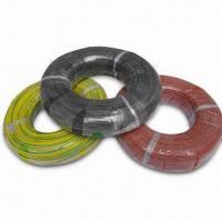 China UL/VDE Silicone Rubber Conductor Wire, Used in High Temperature Environments wholesale