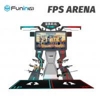 China 2 Players Interactive Arcade Game Machine FPS Arena 9D Virtual Reality Cinema wholesale