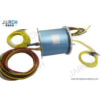 China Four Channel Electric Circuits Rotary Joint Slip Ring For Creel , 165mm Diameter wholesale