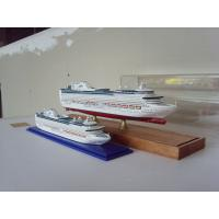 China Hand Painted Wooden Ship Models , Princess of the heyday Cruise Ship Model wholesale