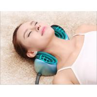 Home and Car Head Neck Massaging Pillow with Heating , Bule Color