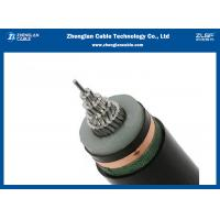 China Single Core MV Armoured Electrical Cable IEC60502 Black Or Customized Out Sheath Color wholesale